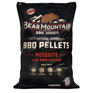Bear Mountain Mesquite Flavored BBQ Wood Pellets