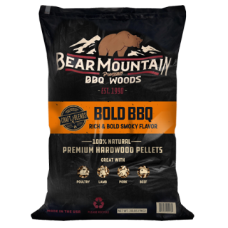 Bear Mountain Bold BBQ Craft Blends Wood Pellets