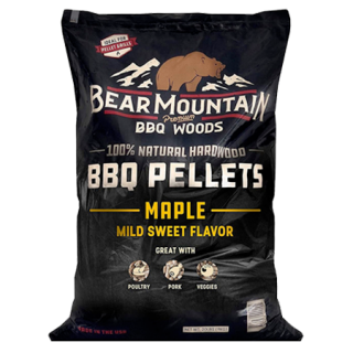 Bear Mountain Maple BBQ Pellets Wood Pellets