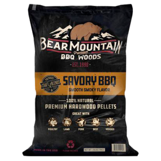Bear Mountain Savory BBQ Craft Blends Wood Pellets