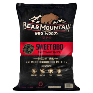 Bear Mountain Sweet BBQ Craft Blends Wood Pellets