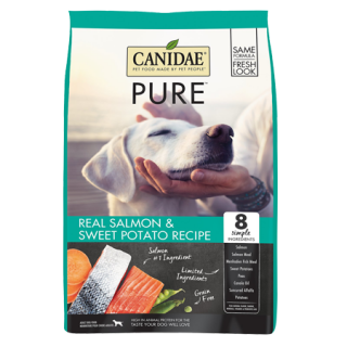 Canidae Grain-Free PURE Real Salmon & Sweet Potato Recipe Dry Dog Food