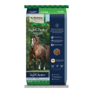 Nutrena SafeChoice Perform Textured Horse Feed