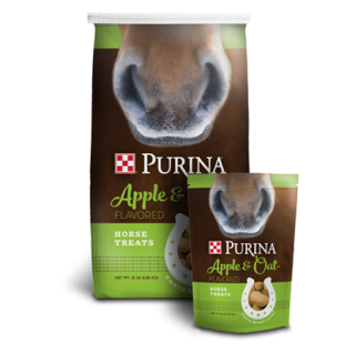 Purina Apple and Oat-Flavored Horse Treats