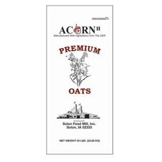 Acorn II Premium Cleaned Oats
