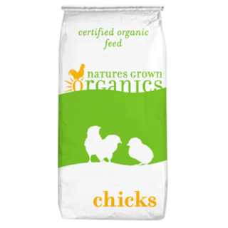 Natures Grown Organics 19% Chick Starter Poultry Crumbles
