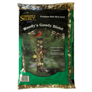 Nature's Select Green and Black Woodys Goody Wild Bird Seed