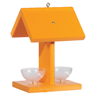Audubon Recycled Oriole Feeder with Jelly Dishes