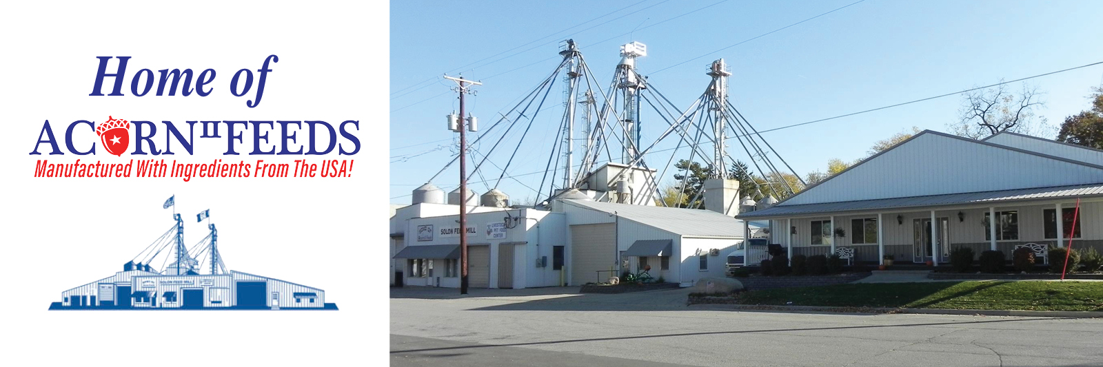 Solon Feed Mill Acorn Feeds