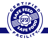 safe feed safe food facility logo